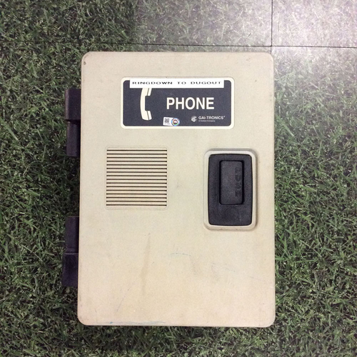 Photo of Milwaukee Brewers Team-Issued Bullpen Phone