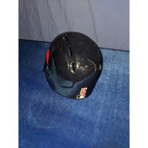 Photo of Albert Pujols 80's Style Game-Used Helmet