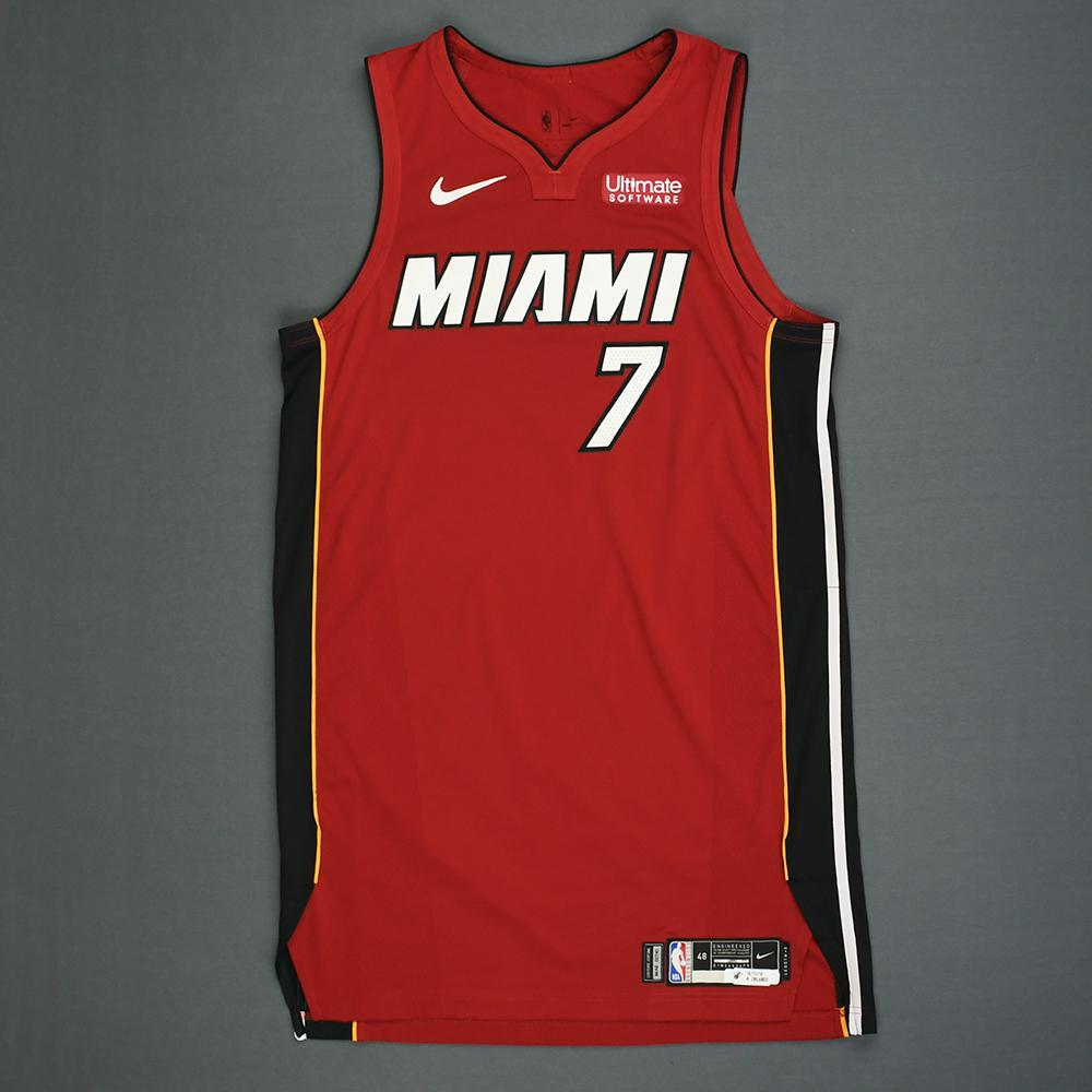 Goran Dragic - Miami Heat - Kia NBA Tip-Off 2018 - Game-Worn Statement Edition Jersey