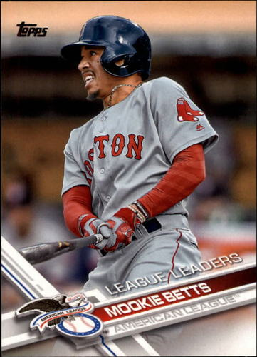 Photo of 2017 Topps #242 Mookie Betts LL