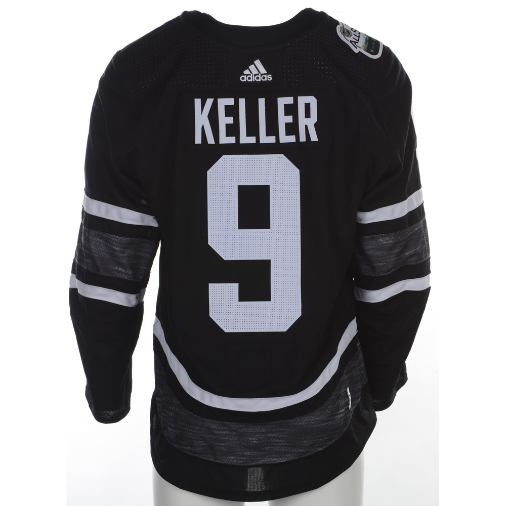 Clayton Keller Arizona Coyotes Player-Issued 2019 All-Star Game Jersey