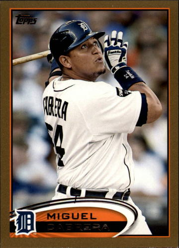 Photo of 2012 Topps Gold #200 Miguel Cabrera