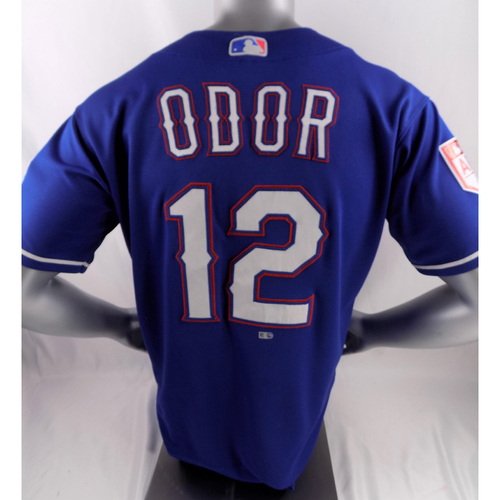 Photo of Game-Used Spring Training Jersey - Rougned Odor - 2/27/19