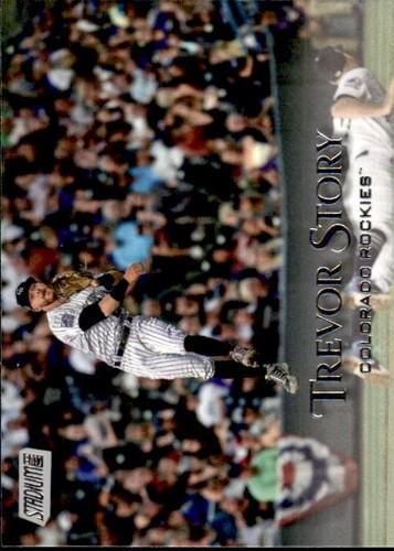 Photo of 2019 Stadium Club #217 Trevor Story
