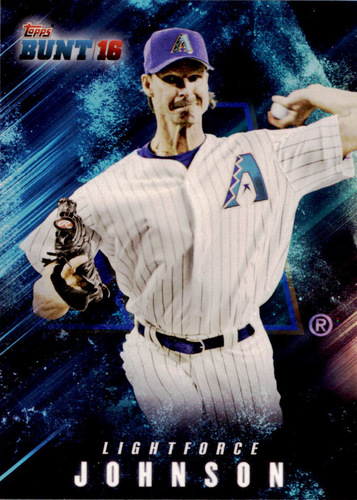 Photo of 2016 Topps Bunt Light Force #LF15 Randy Johnson