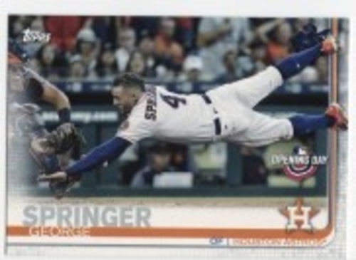 Photo of 2019 Topps Opening Day #40 George Springer