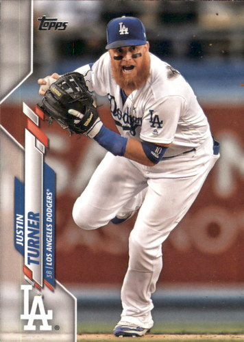 Photo of 2020 Topps #316 Justin Turner
