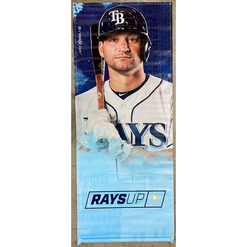 Photo of Rays Baseball Foundation: Team Issued Banner - Mike Zunino