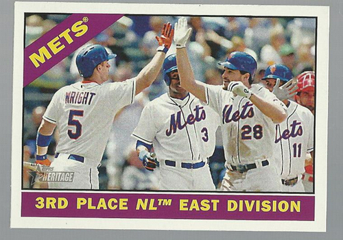 Photo of 2015 Topps Heritage #172 New York Mets