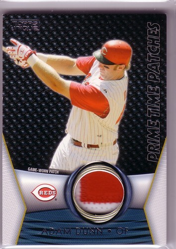 Photo of 2009 Topps Unique Primetime Patches #PTP110 Adam Dunn/99
