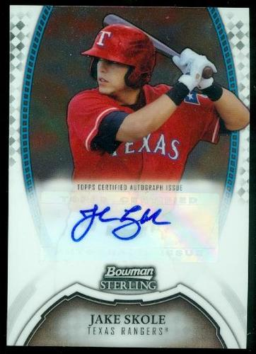 Photo of 2011 Bowman Sterling Prospect Autographs #JK Jake Skole