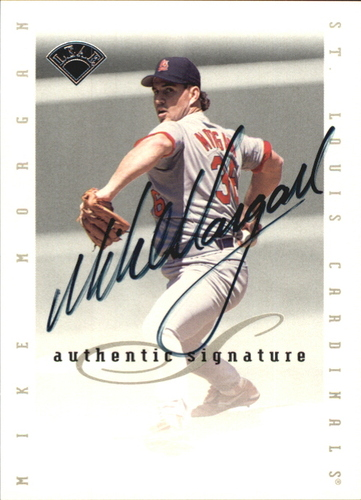 Photo of 1996 Leaf Signature Extended Autographs #133 Mike Morgan