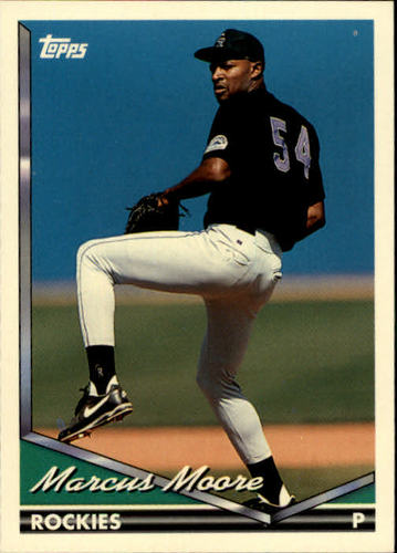 Photo of 1994 Topps #186 Marcus Moore