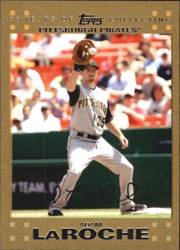 Photo of 2007 Topps Update Gold #9 Adam LaRoche