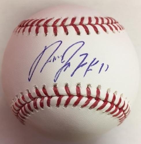 Jose Ramirez Autographed Baseball