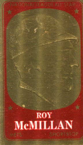 Photo of 1965 Topps Embossed #44 Roy McMillan