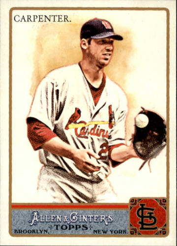 Photo of 2011 Topps Allen and Ginter #295 Chris Carpenter