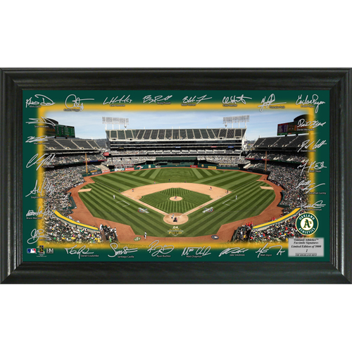 Photo of Serial #1! Oakland A's 2018 Signature Field