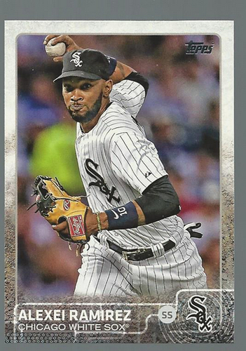 Photo of 2015 Topps #65 Alexei Ramirez