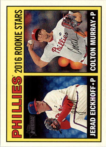 Photo of 2016 Topps Heritage #173 Colton Murray RC/Jerad Eickhoff RC