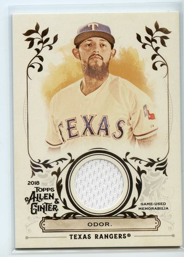 Photo of 2018 Topps Allen and Ginter Relics #FSRARO Rougned Odor A