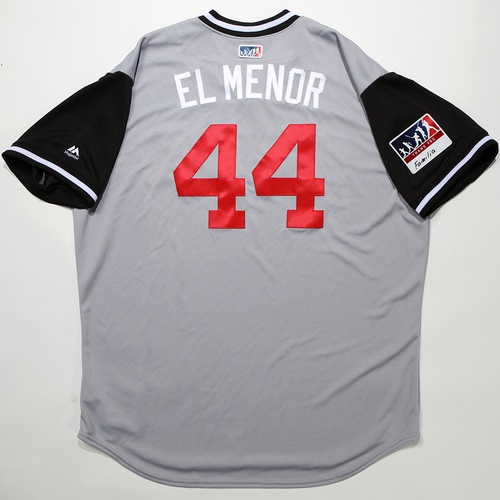 "Photo of Bruce ""El Menor"" Rondon Chicago White Sox Team-Issued 2018 Players' Weekend Jersey"