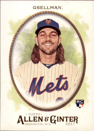 Photo of 2017 Topps Allen and Ginter #14 Robert Gsellman Rookie Card