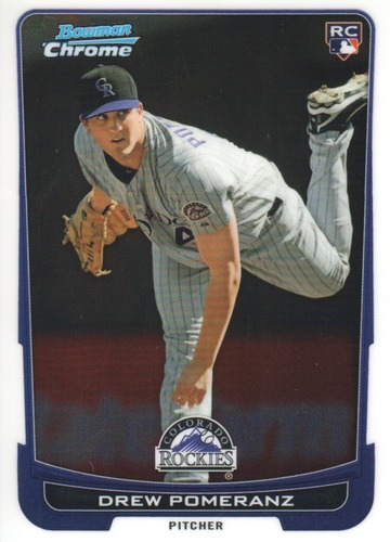 Photo of 2012 Bowman Chrome #150 Drew Pomeranz RC