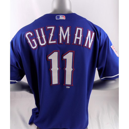 Photo of Team-Issued Spring Training Jersey - Ronald Guzman