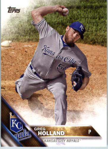 Photo of 2016 Topps #454 Greg Holland