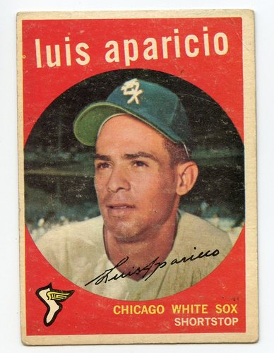 Photo of 1959 Topps #310 Luis Aparicio