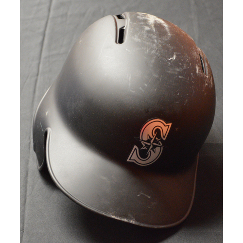 "Photo of Kyle ""SEAGER"" Seager Seattle Mariners Game-Used 2019 Players' Weekend Helmet"