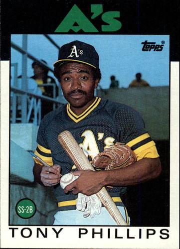 Photo of 1986 Topps #29 Tony Phillips