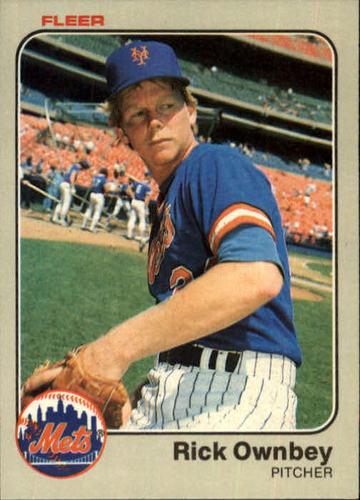 Photo of 1983 Fleer #551 Rick Ownbey