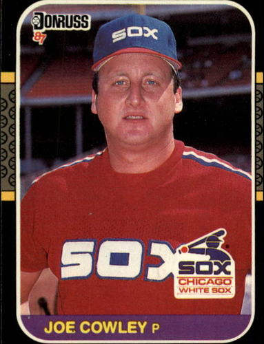 Photo of 1987 Donruss #552 Joe Cowley