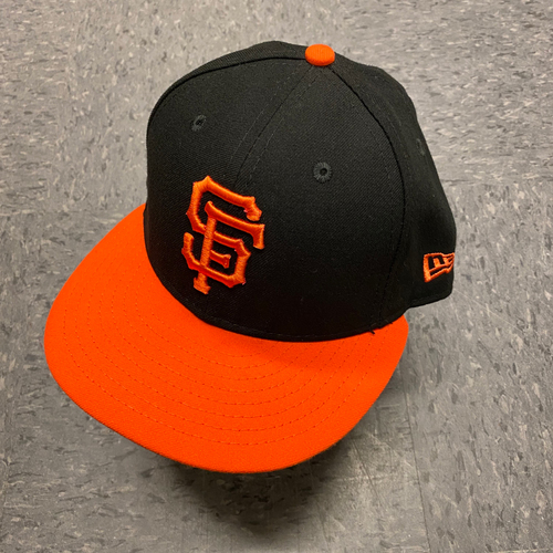 Photo of 2019 Team Issued Orange Bill Cap - #60 Wandy Peralta - Size 7