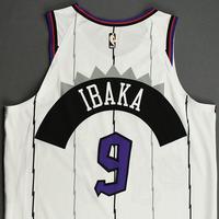 Serge Ibaka - Toronto Raptors - Game-Worn Classic Edition 1995-96 Home Jersey - 2019-20 Season