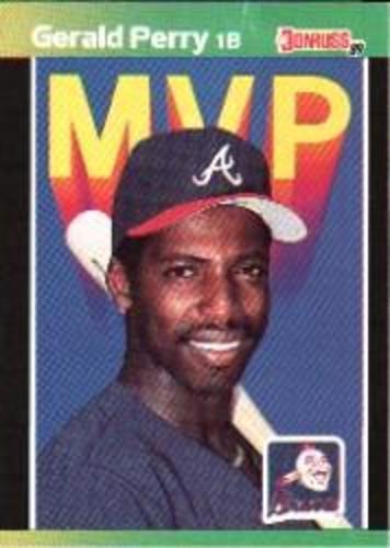 Photo of 1989 Donruss Bonus MVP's #BC24 Gerald Perry DP