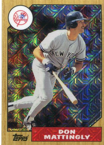 Photo of 2017 Topps '87 Topps Silver Pack Chrome #87DM Don Mattingly S2