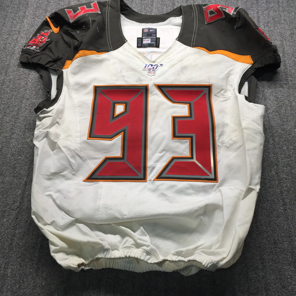 Crucial Catch - Buccaneers Ndamukong Suh Game Used Jersey (11/3/19) Size 46