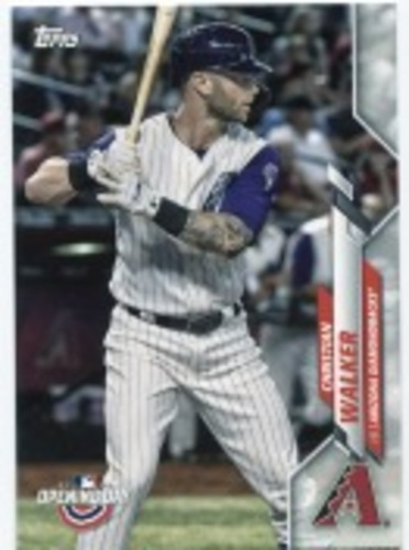 Photo of 2020 Topps Opening Day #133 Christian Walker