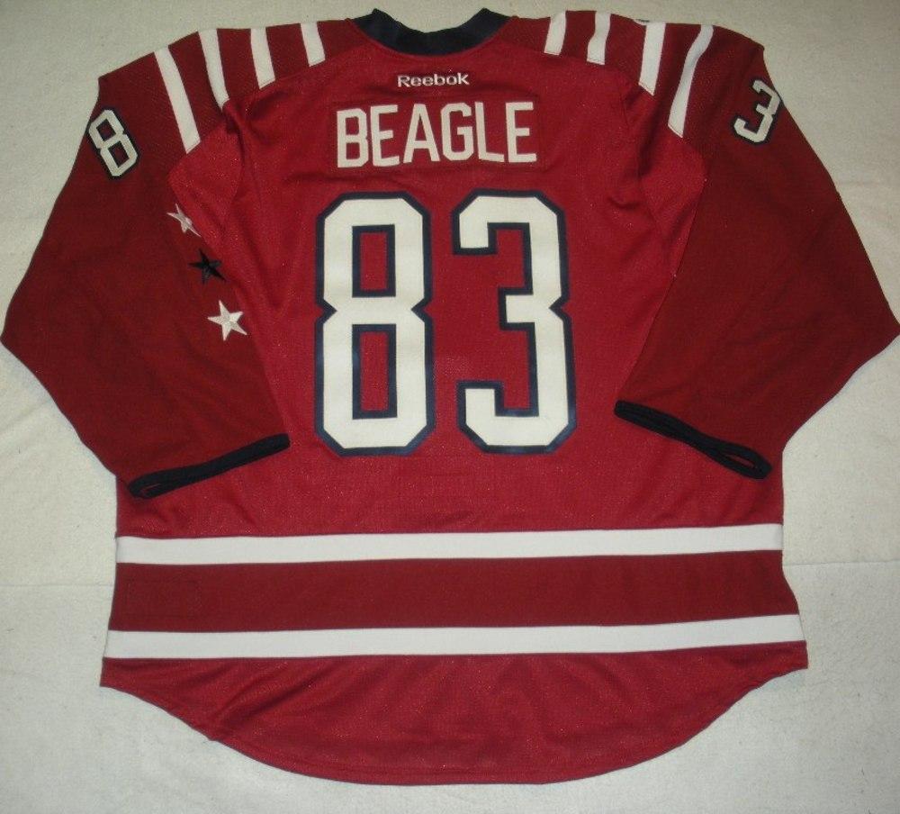 huge selection of 390bc 139e3 Jay Beagle - Washington Capitals - 2015 NHL Winter Classic ...