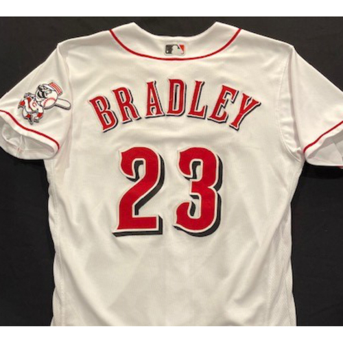 Photo of Archie Bradley -- 2020 Home White Jersey -- Team Issued -- Size 44
