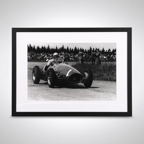 Photo of Alberto Ascari Framed Photograph