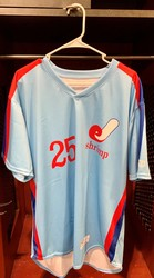 Photo of Jacksonville Expos Fauxback Jersey #25 Parker Bugg Size 48