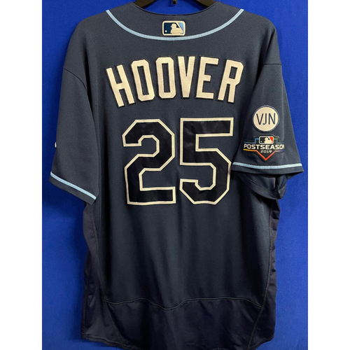 Photo of Game Used WC & ALDS Postseason Jersey: Paul Hoover - October 2, 2019 at OAK & October 10, 2019 at HOU