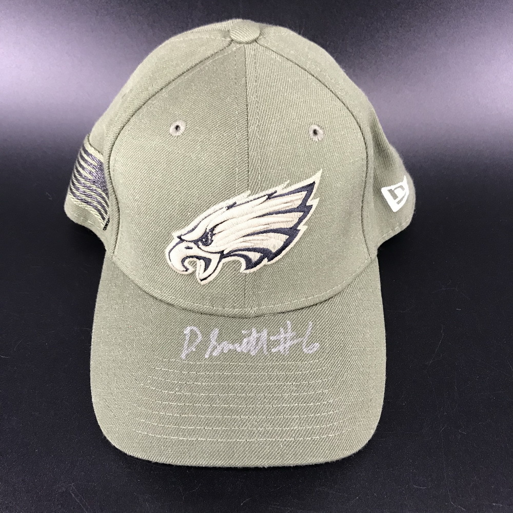 NFL - Eagles DeVonta Smith Signed Hat