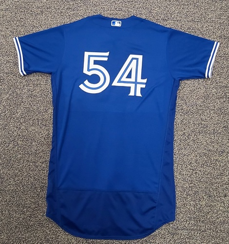 Photo of Authenticated Team Issued Spring Training Jersey: #54 Joel Payamps (2021 Season). Size 46.