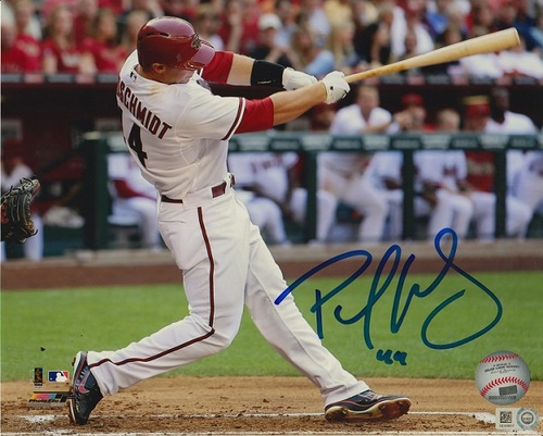 Photo of Paul Goldschmidt Autographed 8x10