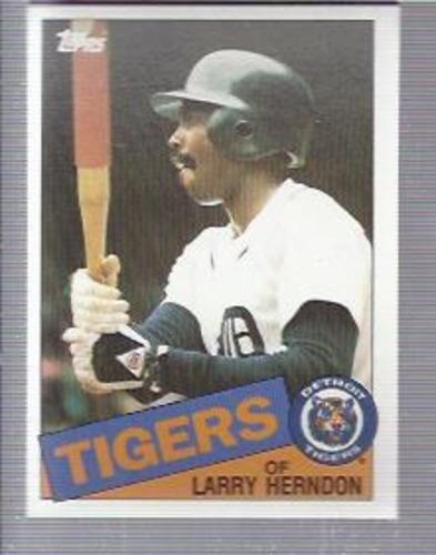 Photo of 1985 Topps #591 Larry Herndon